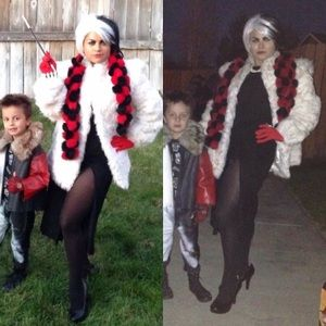 Other - COSPLAY Personally pieced Cruella Deville Costume